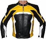 German Wear Leder Motorradjacke aus RindsGerman Wear Leder Kombijacke