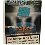 Parches Anti-Olor Humo Tabaco 24 Unidades de Larus Pharma