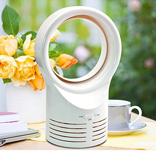 XuBa Mini Ventilador de sobremesa portátil sin aspas, Ventilador de refrigeración para Oficina o Estudio