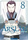 The Heroic Legend of Arslân, tome 8 par Tanaka