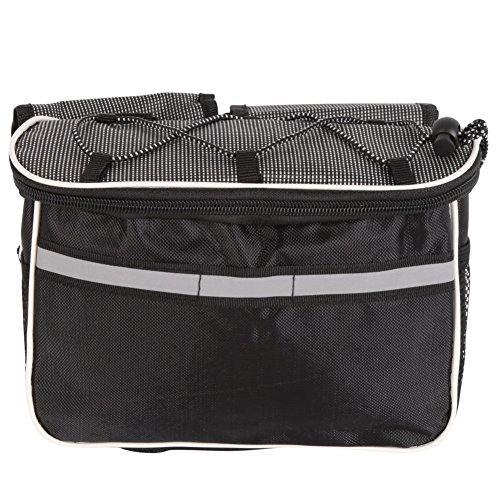 hougood 4in 1Radfahren Bag Multifunktions-Satteltasche Bike Bag Regendicht Rahmen Tube Tasche Grau