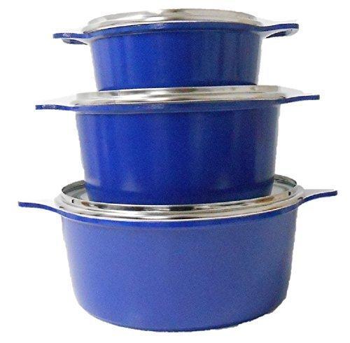 6-pc-pieces-non-stick-ceramic-coated-die-cast-saucepan-pot-set-lid-pan-cookware-casserole-stock-pots