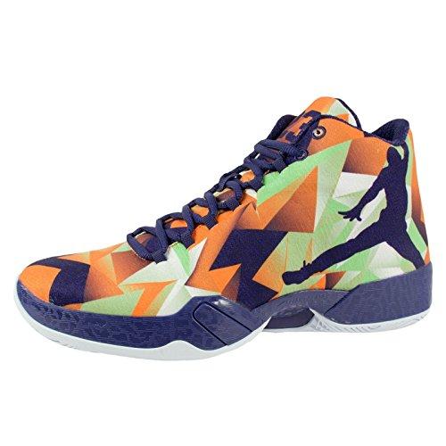 Nike air jordan xX9 'hare'chaussures de basketball pour homme - Helle Mandarin / Ink / Weiß
