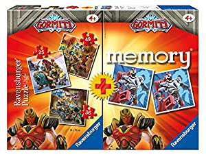 Ravensburger - Multipack Memory+ 3 puzzle Gormiti (20519)