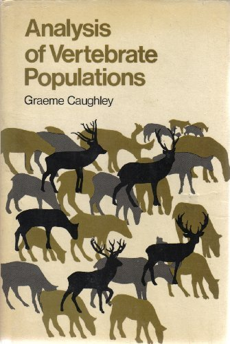 Analysis of Vertebrate Populations by G CAUGHLEY (1977-01-12)