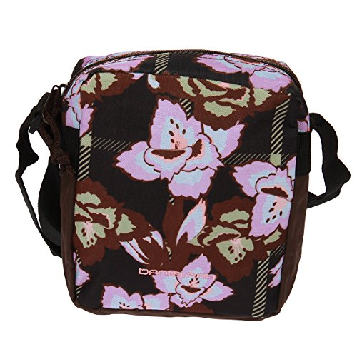 Daniel Ray Blumen Schultertasche Bamble lila schwarz Handtasche Tasche
