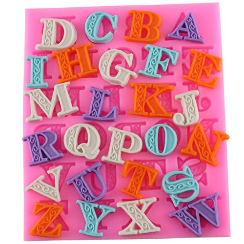 Fondant Brief Form Candy Making Tools Silikon Alphabet Formen Kuchen dekorieren