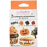 Scrapcooking 3 Colorants Poudre Halloween 3 x 5 g