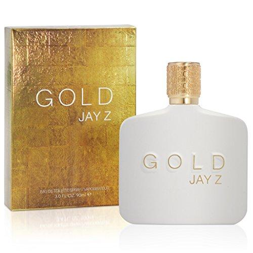 JAY Z Gold EDT Man Spray, 1er Pack (1 x 90 ml)