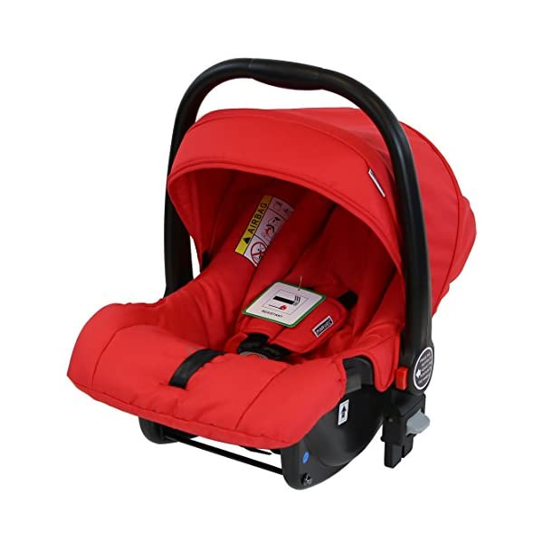iSafe Marvel 3in1 Travel System Includes Car Sea & Carrycot (Red Pearl) iSafe  9