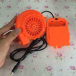 GEZICHTA Elektrische Luftgebläse, DC 6 V, 4,8 W, elektrisch, batteriebetrieben, Mini-Ventilator, luftgekühlt, Gebläse für Puppe Maskottenkopf aufblasbares Spielzeug Kostüm