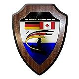 Wappenschild / Wandschild / Wappen - Goose Bay Kanada Canada Taktisches Ausbildungs Kommando Bundeswehr Bw Soldaten Mili