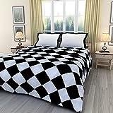 eCraftIndia Black and White Square Check...