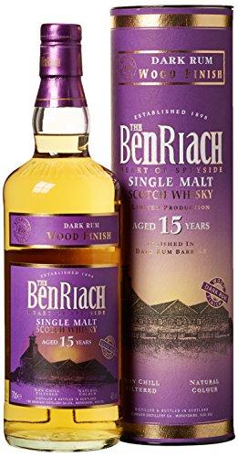 Benriach 15 Years Old Dark Rum Finish mit Geschenkverpackung  Whisky (1 x 0.7 l)