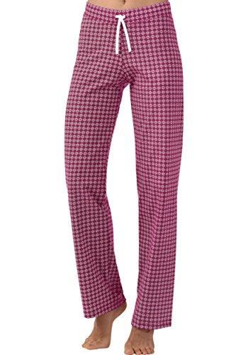 Trigema Pantalon de pyjama Magenta