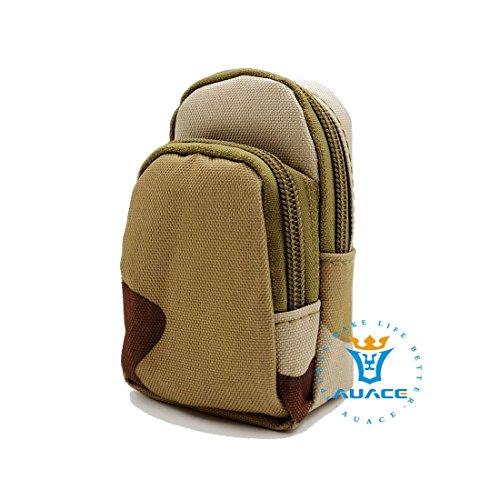 Multifunktions Survival Gear Tactical Beutel MOLLE Tasche-Epauletten Tasche, Outdoor Camping Tragbare Travel Bags Schlüssel mümzbörse DCU