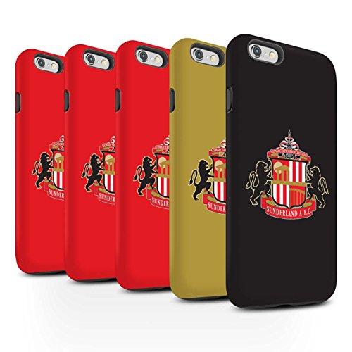 Offiziell Sunderland AFC Hülle / Matte Harten Stoßfest Case für Apple iPhone 6+/Plus 5.5 / Pack 6pcs Muster / SAFC Fußball Crest Kollektion Pack 6pcs