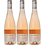LaCheteau Vin Rosé de Loire AOP 2016  75 cl - Lot de 3