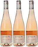 LaCheteau Vin Rosé de Loire AOP 2015 75 cl - Lot de 3