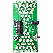 Ils - DIY electrónica de Reloj de Arena Kit Kit de Aprendizaje Interesante MCU Luces LED