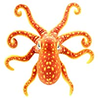 TAGLN Realistic Soft Plush Toys Octopus Stuffed Marine Animals Devilfish Christmas Gifts and Home Decrorations