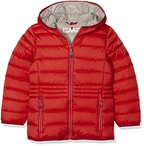 CMP Chaqueta de plumas para niña, otoño/invierno, niña, color Campari Mel/Mineral Grey, tamaño 12 años (152 cm)
