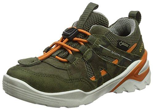 ECCO Jungen Biom VOJAGE Sneaker, Grün Grape Leaf, 33 EU