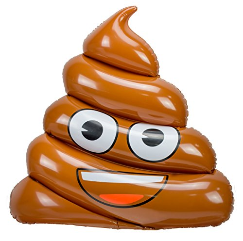 Emoji- Colchoneta Hinchable Caca (Saica 5884)