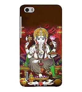 Fuson Designer Back Case Cover for Huawei Honor 6 ( Ganesh Balaganapati Bhalchandra Bhupati Bhuvanpati Chaturbhuj Vinayagar Sampath Vinayaka )