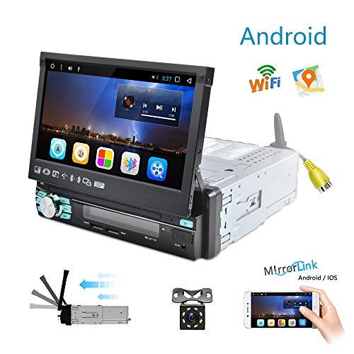 Android Radio Coche 1 DIN GPS Navegación Camecho