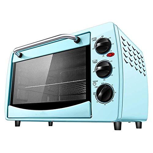 ZXCVB Haushalt 20l Elektro-Ofen Electric.Haushalt Multi-Funktions-Röster, Kleine Mini-Kuchen-Backen-Box, unabhängige Temperaturregelung (Farbe, blau) -