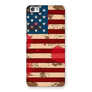 Premium Grunge USA Flag Multicolor Back Case Cover for Xiaomi Redmi Mi5