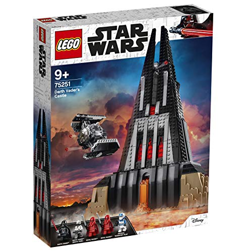 Lego 75251 Star Wars Darth Vader Castle Playset, TIE Fighter Toy and 5 Minifigures (Exclusive to Amazon Jouet, Multicolore