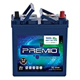 Tata Green Batteries 1419511247 Premio PR4000R 12V 35Ah Car Battery (Under Exchange-Old Battery)
