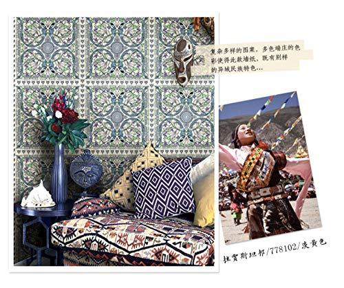 Tapete Hochwertige Retro Amerikanische Tapete Ländliche Blumen Und Vögel Chinesische Tapete Wohnzimmer Schlafzimmer Neue Chinesische Tv-Rückwand-D