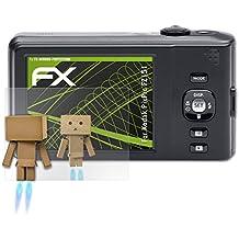 atFoliX Protección de Pantalla para Kodak PixPro FZ151 Lámina protectora Espejo - FX-Mirror Protector Película con efecto espejo
