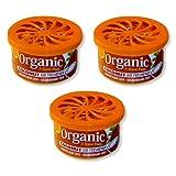 3 Dosen Organic Can Duftdose Autoduft - Kokosnuss coconut