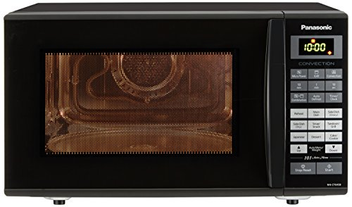 Panasonic 27 L Convection Microwave Oven (NN-CT645BFDG, Black)