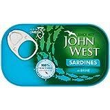 John Ouest Sardines En Saumure 120G (Paquet de 6)