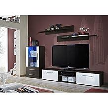 Amazon Fr Meuble Tv Wenge