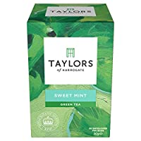 Taylors of Harrogate Sweet Mint Green Tea Infusion, 20 Teabags (Pack of 3)