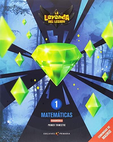 Proyecto: La leyenda del Legado. Matemáticas 1 - Cuadrícula. Comunidad de Madrid. Trimestres