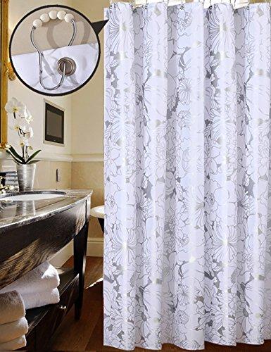 Fancy Duschvorhänge Wasserdichte Dusche Wasserdichte Duschvorhang Badezimmer Vorhänge Toilette Vorhänge Opaque Vorhang Teal Duschvorhang ( größe : 180*200cm ) (Badezimmer Duschvorhänge Teal)