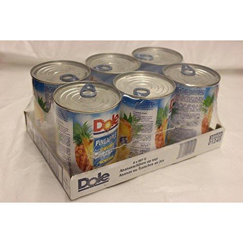 dole-pineapple-slices-in-juice-6-x-567g-konserve-ananas-scheiben-in-saft