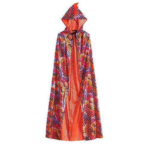 Halloween Bekleidung für Damen Herren und Kleidkind, Malloom Kinder Kinder Baby Jungen Halloween Dinosaurier Party Mantel Cape Robe Outfits Kleidung