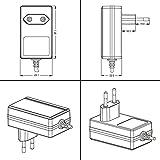 Poppstar Universal AC DC Netzteil, Steckernetzteil 12V 2A (2000mA, 3,5/1,35mm) Adapter - Stromadapter für Externe Festplatten-Gehäuse, Dockingstation UVM, 150cm für Poppstar Universal AC DC Netzteil, Steckernetzteil 12V 2A (2000mA, 3,5/1,35mm) Adapter - Stromadapter für Externe Festplatten-Gehäuse, Dockingstation UVM, 150cm