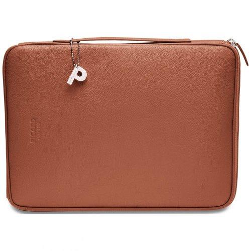 Picard 8113 Busy Miele - praktische Tasche für Laptop/Notebook (13 Zoll), Rindsleder