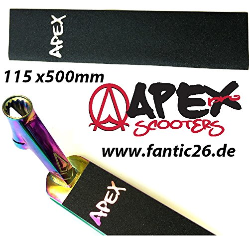 Apex Stunt-Scooter cinta agarre 115 x 500 Cut out