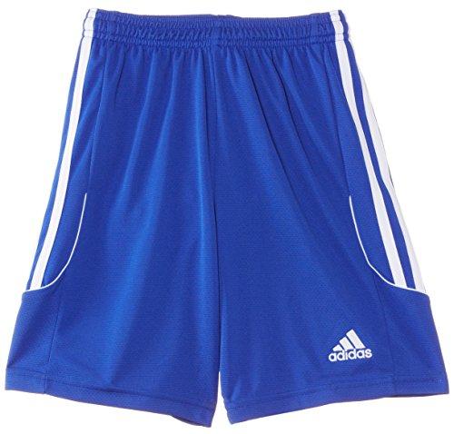 adidas Jungen Fußballshorts Squadra 13 mit Innenslip Shorts, Cobalt/White, 140