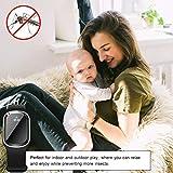 Sarplle Mückenschutz Armband Ultraschall Insektenschutz USB Elektronisch Armbänder für alle handgelenksgroßen Erwachsenen und Kinder